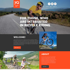 Cycling Responsive Joomla Template