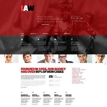 Law WordPress Theme #53371