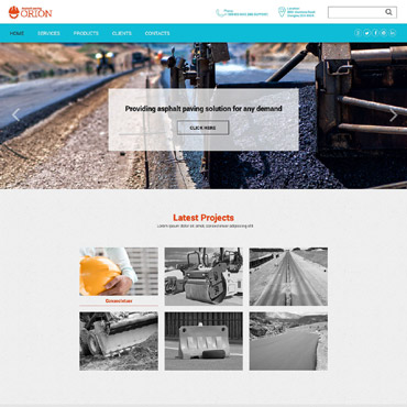Paving Responsive Website Template