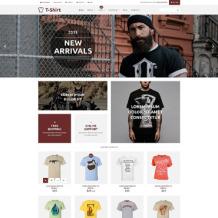 T-shirt Shop Responsive WooCommerce Theme
