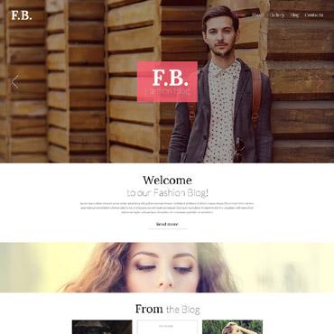 Fashion Blog Responsive WordPress Theme