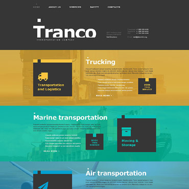 Transportation Muse Template