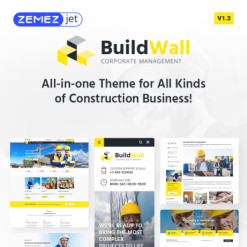 Responsives WordPress Theme für Baufirma