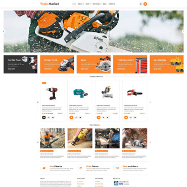 Tools & Equipment Responsive WooCommerce Theme