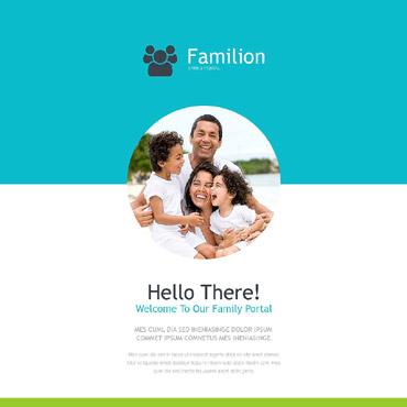 Family Responsive Newsletter Template