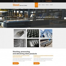 Steelworks Responsive Moto CMS 3 Template