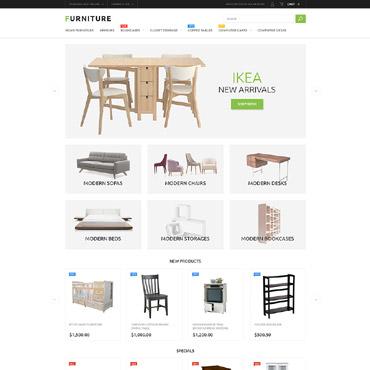 Furniture Store Magento Theme #53791