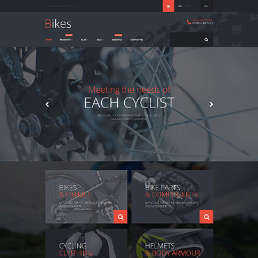 Cycling Responsive Shopify Theme