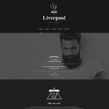 Hair Salon Muse Template