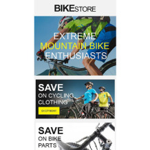 Cycling Responsive Newsletter Template