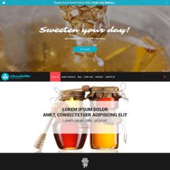 Honey Store Responsive Website Template