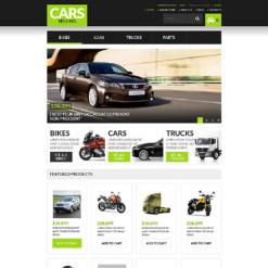 Car Rental Responsive VirtueMart Template