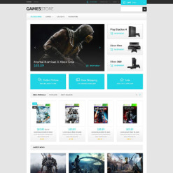 Game Portal Responsive PrestaShop Theme