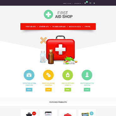 Ambulance OsCommerce Template