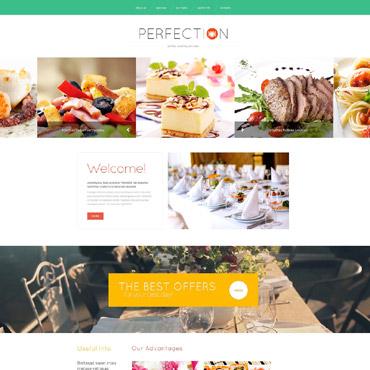 Catering Responsive Website Template