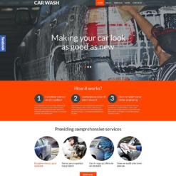 Car Wash Responsive WordPress Theme