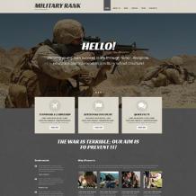 Military School Responsive WordPress Theme