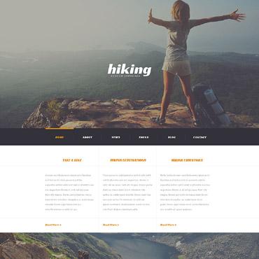 Camping Responsive WordPress Theme