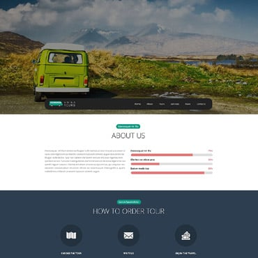 Pro Travel Website Website Template #54655