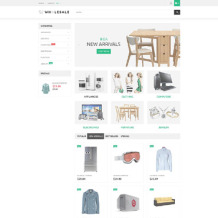 Wholesale Store Responsive PrestaShop Theme