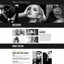 Model Agency Moto CMS HTML Template