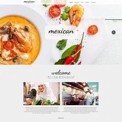 Mexican Restaurant Moto CMS HTML Template
