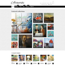 Art Web Responsive Shopify Theme