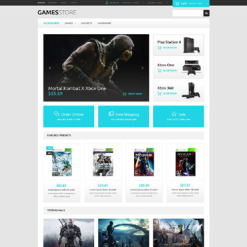 Games OsCommerce Template