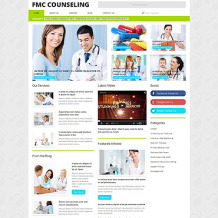 Counseling Responsive WordPress Theme