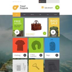 Travel Store Responsive WooCommerce Theme