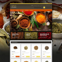 Spice Shop OsCommerce Template