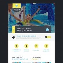Amusement Park Moto CMS HTML Template