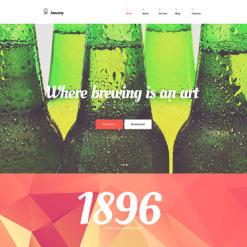 Brewery Responsive WordPress Theme