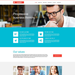 Consulting Muse Template