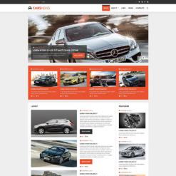 Car Club Responsive Joomla Template