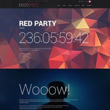 Night Club Responsive Drupal Template