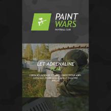Paintball Responsive Newsletter Template