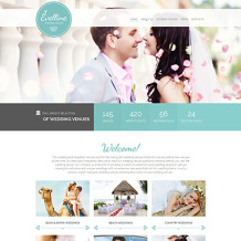 Wedding Venues Responsive Website Template