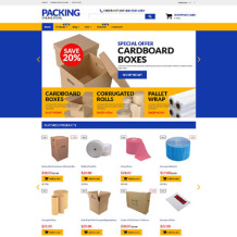 Packaging Responsive Shopify Theme
