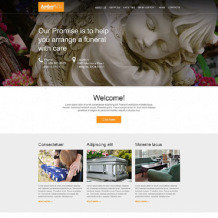 Funeral Services Muse Template