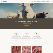 Cattle Farm Responsive Website Template