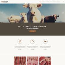 Cattle Farm Responsive Website Template