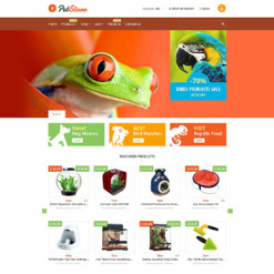 Pet Shop Responsive Shopify Theme