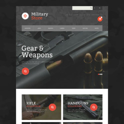 Military OsCommerce Template