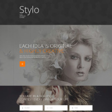 Beauty School Responsive Landing Page Template