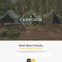 Summer Camp Responsive Landing Page Template
