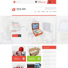 Ambulance Responsive WooCommerce Theme