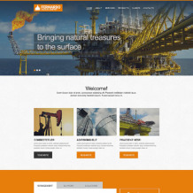 Gas & Oil Muse Template