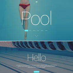 Pool Cleaning Responsive WordPress Theme