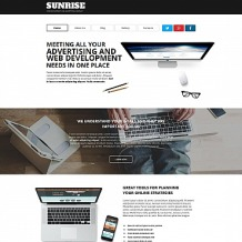Web Development Moto CMS HTML Template